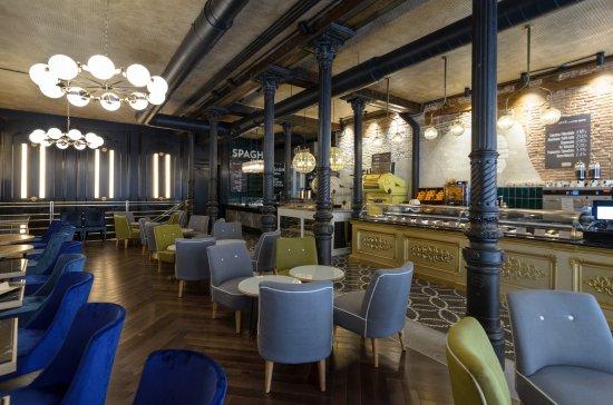 Lámparas de diseño a medida en Restaurante La Focaccella de Madrid