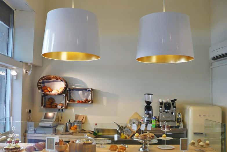 Lámparas colgantes de diseño en Cup & Cake Barcelona