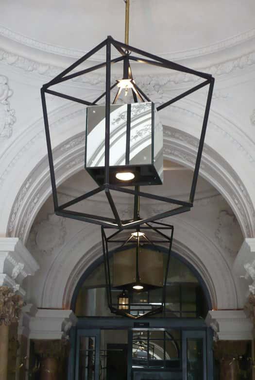 Lámparas de diseño Hotel Parktik Barcelona. Lárazo Rosa-Violán Studio