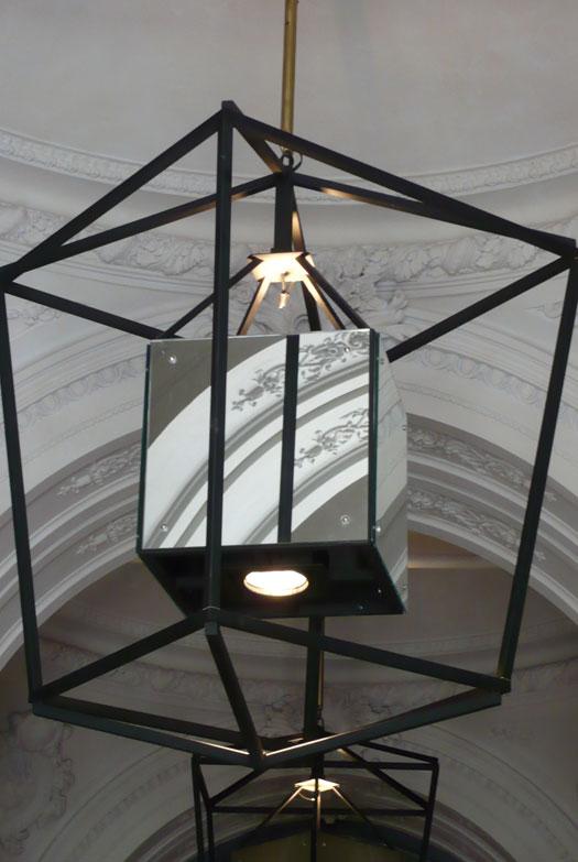 Lámparas a medida en Hotel Parktik Barcelona. Lárazo Rosa-Violán Studio
