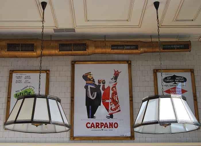 Lámparas a medida en Restaurante La Canica de Campo de las Nacionesº