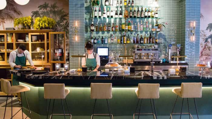 Diseño de interiores en Restaurante Gonzalín en Madrid