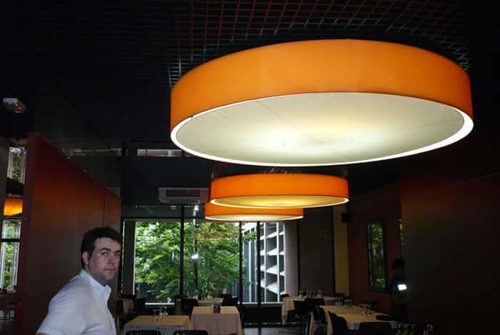 Dajor restaurante universidad upc barcelona - Pantallas lamparas barcelona ...