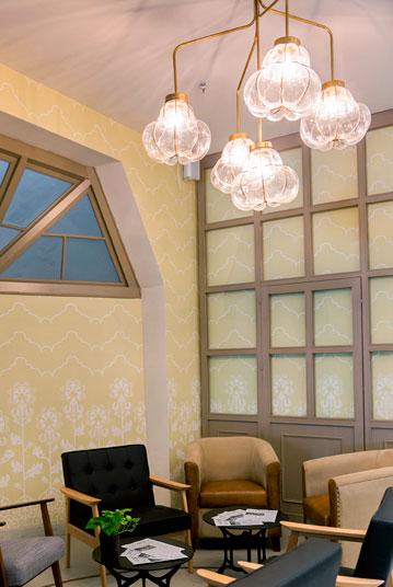 Lámparas de techo con tulipa de cristal colección 2020