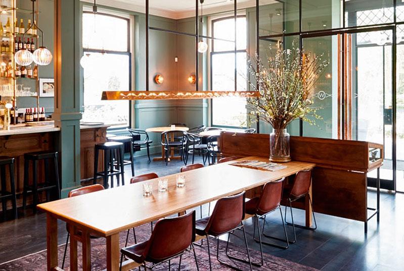 Lámparas de interiores en Welgelegen Stads Café en Holanda