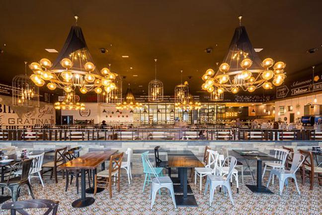 Diseño de interiores en Restaurante Muerde la Pasta de Valencia