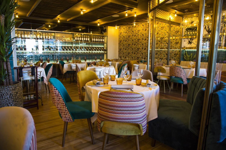 iluminación restaurante vintage madrid