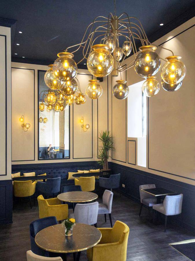 interior vintage lamparas iluminacion a medida