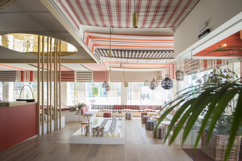 Iluminación en Restaurante Maná 75º Barcelona Turull Sörensen