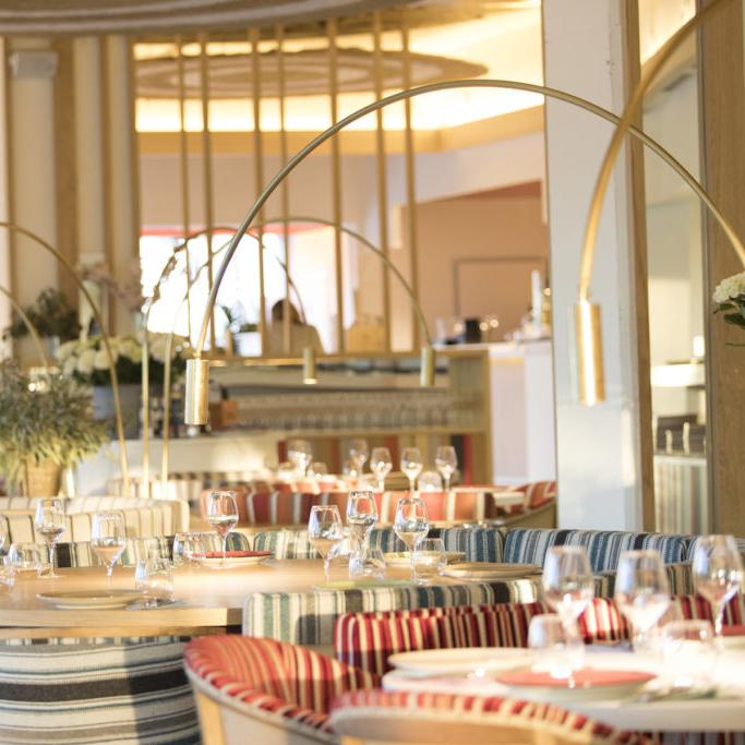 interiorismo iluminacion restaurante barcelona