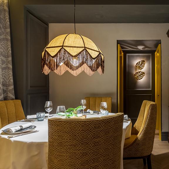 iluminacion a medida restaurante madrir