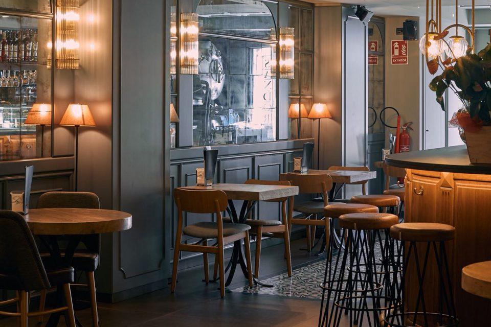 lamparas barcelona restaurante sandor
