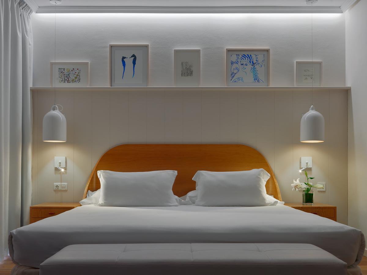 lampara para cabecero de la cama