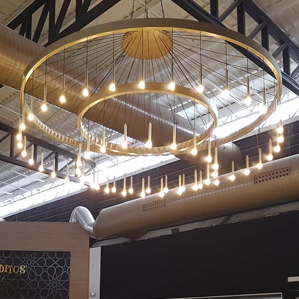 lampara de techo para centro comercial sevilla