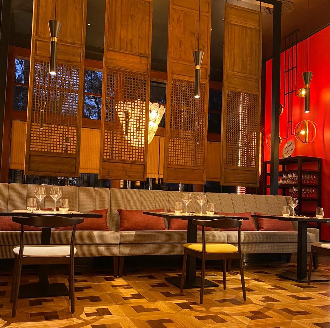 proyecto iluminacion vintage restaurante kaori