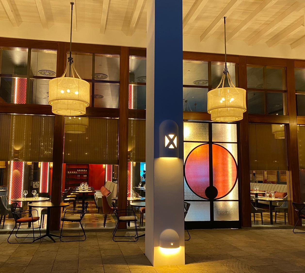 restaurante kaori luz vintage iluminacion