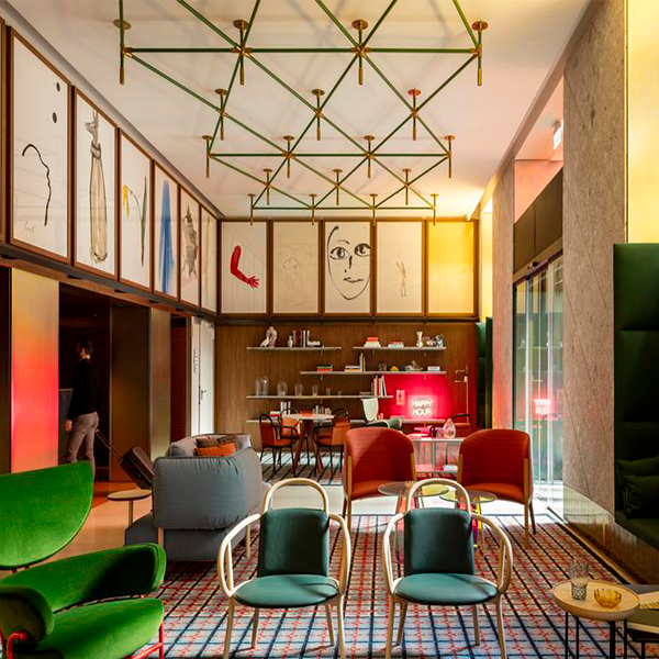 luminarias dajor para hotel