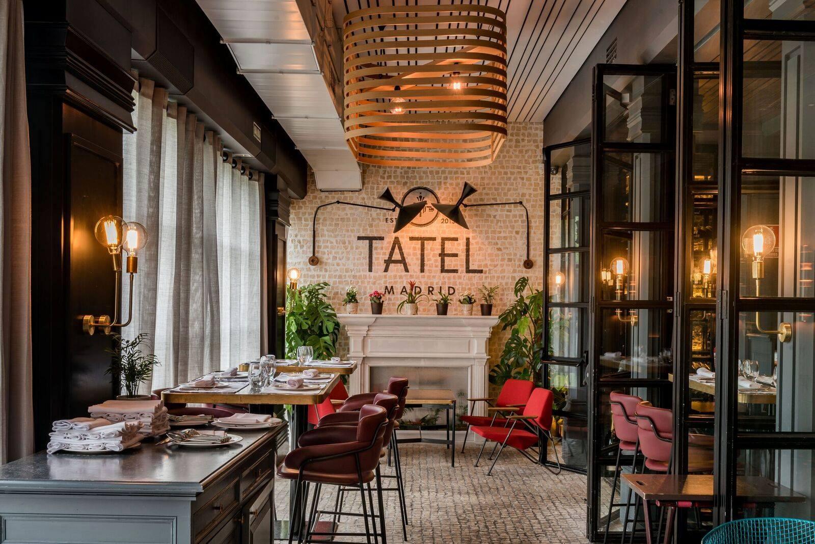 lamparas vintage iluminacion restaurante apliques